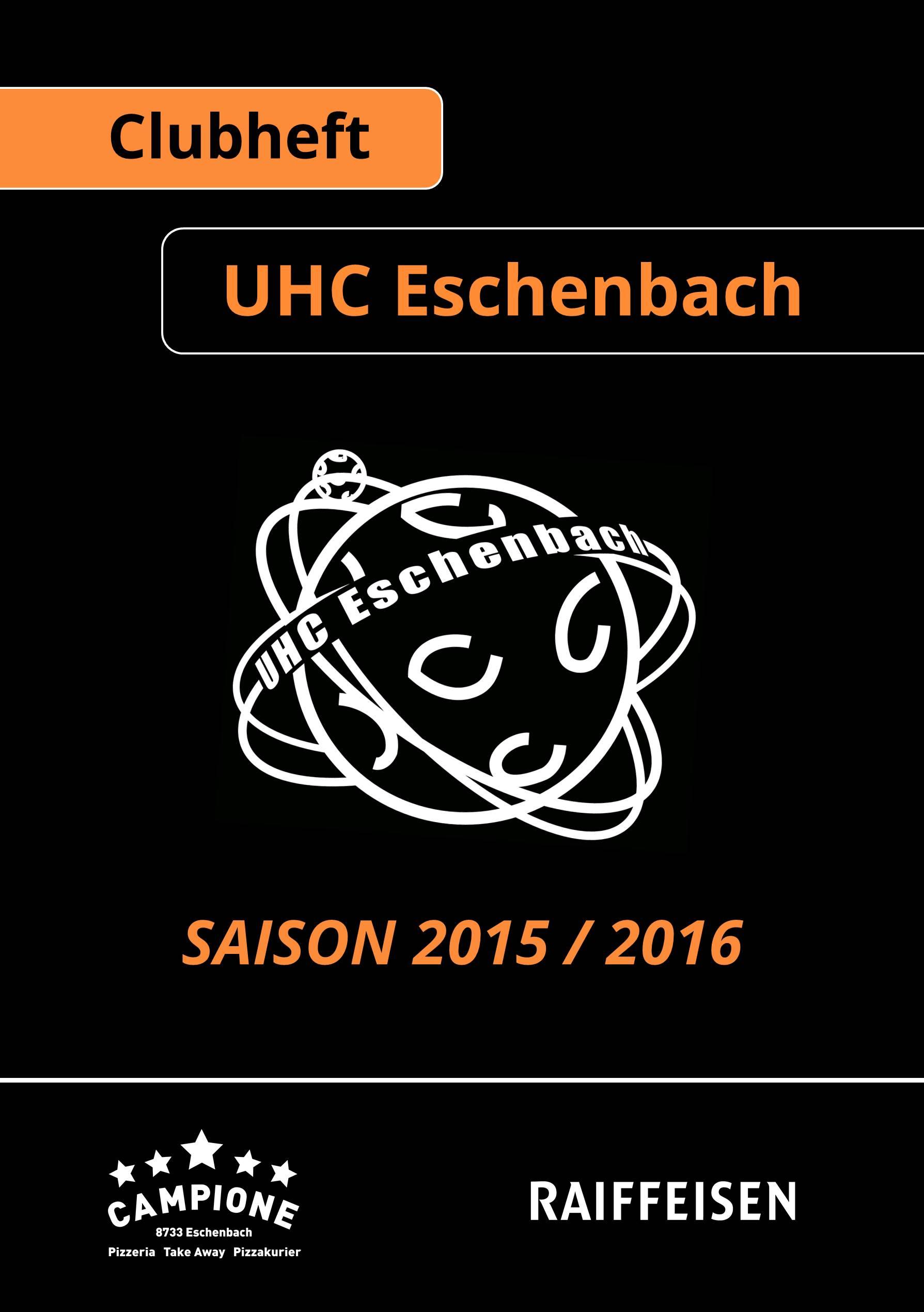 Clubheft Saison 2016/2017