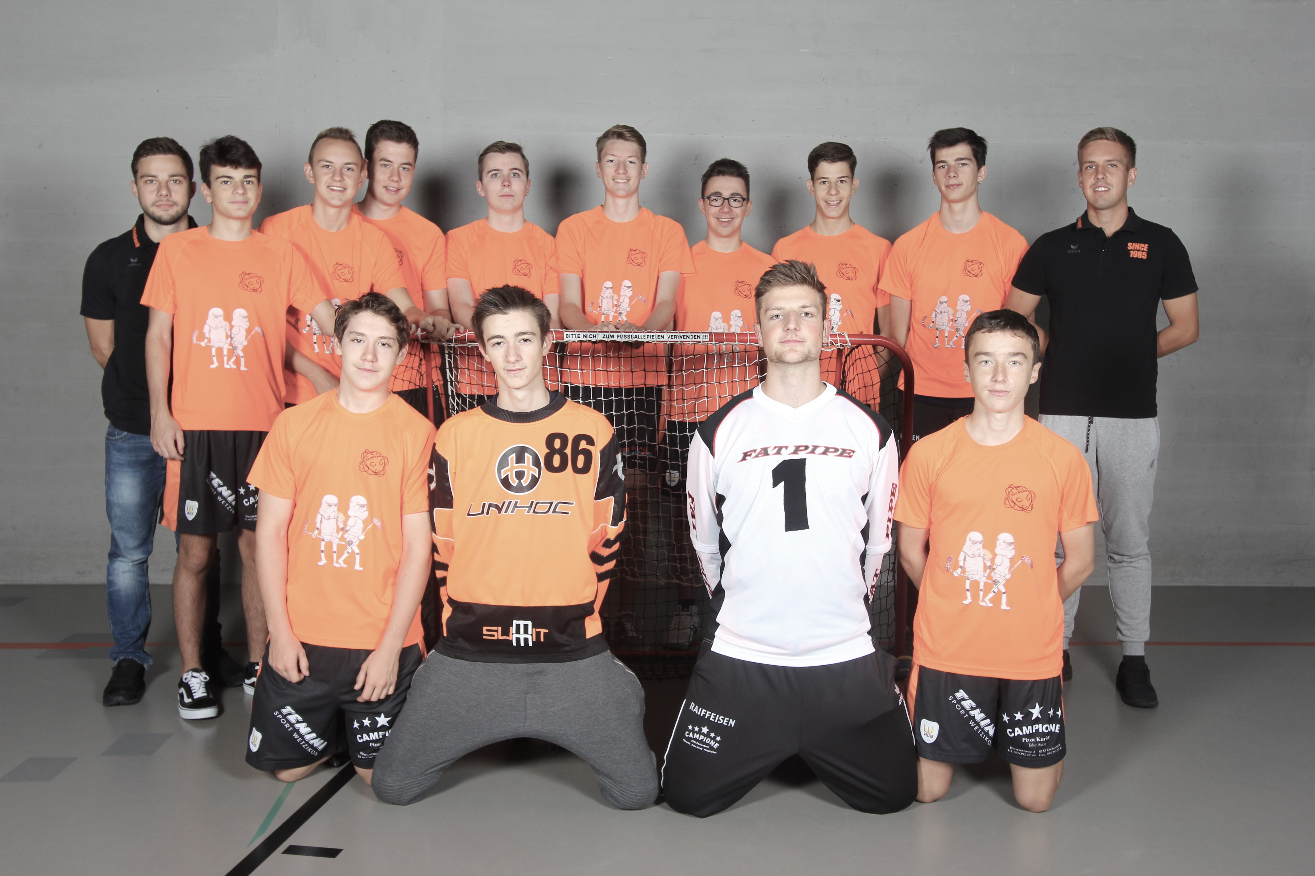 Junioren B - Saison 2015/2016